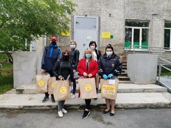 Волонтеры Белоярского городского округа помогли нескольким десяткам семей