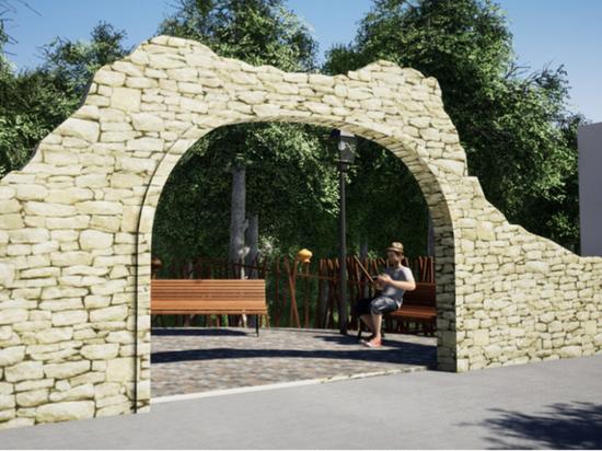Старый вход в Курортный парк откроют в Железноводске