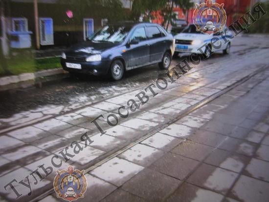 В Туле водитель сбил женщину-пешехода