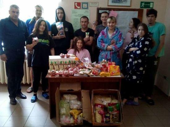 """""""Тележка добра"""": более 200 семей получили продуктовую помощь от крымчан"""