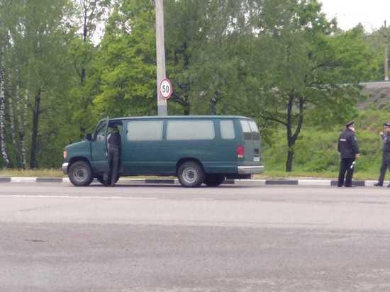 Сотрудники ГИБДД в Тульской области поймали перевозчика-нарушителя
