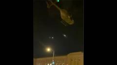 В Вашингтоне протестующую толпу распугивали военными вертолетами: видео