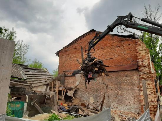 Исторический центр Тулы освобождают от незаконных строений