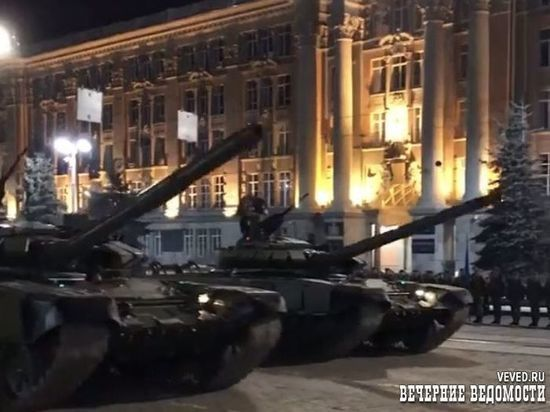 Парад Победы в Екатеринбурге начнут репетировать с 4 июня