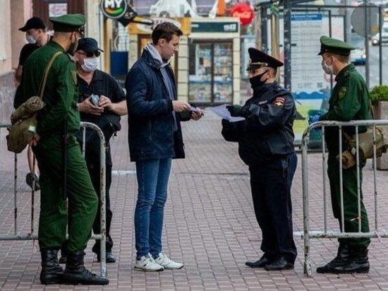 За сутки на Дону полицейские составили более 600 протоколов о нарушении ограничительных мер