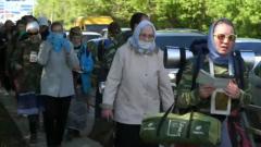 В Кирове сотни паломников отправились на крестный ход, несмотря на запрет