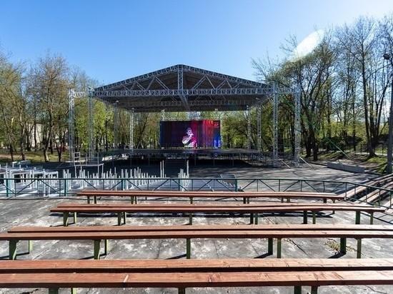 Глава Пскова: Сцена в Зеленом театре – потрясающий подарок городу