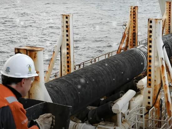 Россия заявила о невозможности остановить «Северный поток-2»