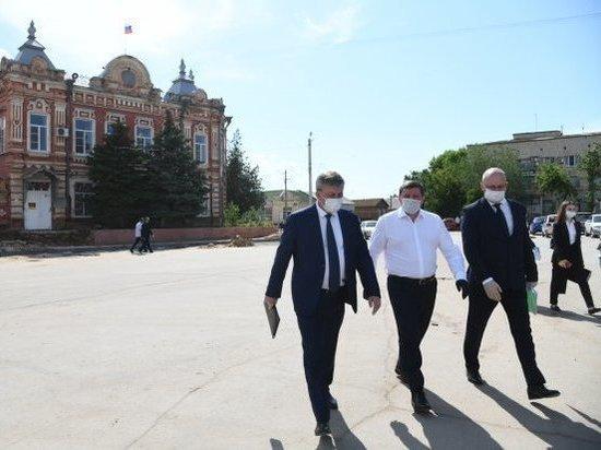 Андрей Бочаров проверил в Заволжье работу по проектам развития