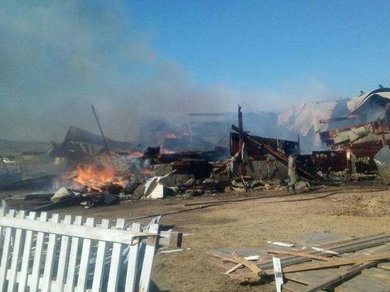 Воры сожгли банк в забайкальском селе после кражи денег