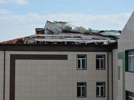 Десятки тысяч человек остались без света после урагана в Ингушетии