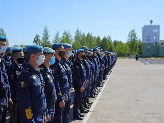 Псковские десантники борются за знак отличия ВДВ