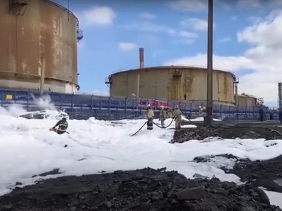 «Норникель» намерен законсервировать попавшие в реку нефтепродукты