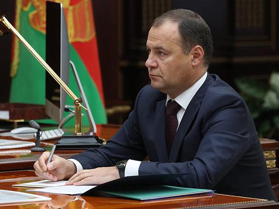 Лукашенко назначил новым премьером Белоруссии главу госкомвоенпрома Головченко