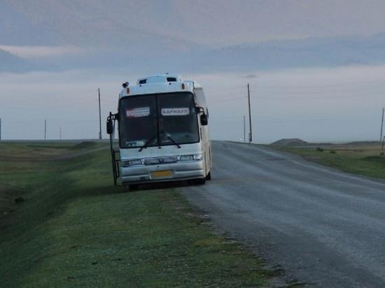 Житель Горно-Алтайска ради шутки сообщил о минировании рейсового автобуса