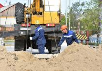 На Ямале стартовали работы по благоустройству территорий и дворов