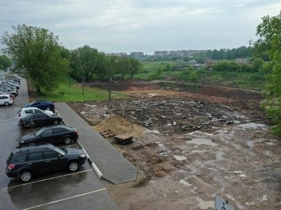 Первый этап благоустройства Серпейского пруда в Серпухове окончен