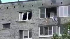 В подмосковной Ивантеевке в пятиэтажке взорвался газ: видео