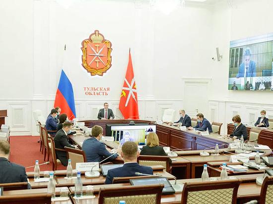 В правительстве Тульской области обсудили вопросы противодействия коррупции