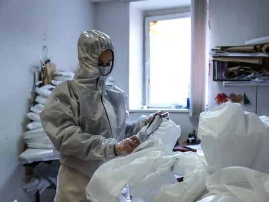 Благотворители отправили Башкирии 20 тысяч защитных костюмов