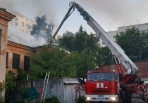 Ночью в Екатеринбурге горела старая школа