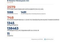 На Ямале коронавирус подтвердили еще у 45 человек