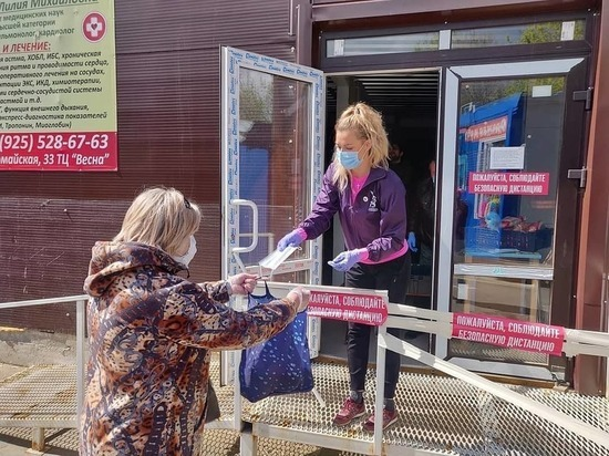 В Чехове приняли решение о бесплатной раздаче масок