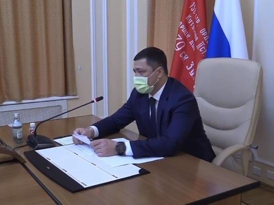 Псковский губернатор: COVID распространяется на улицах
