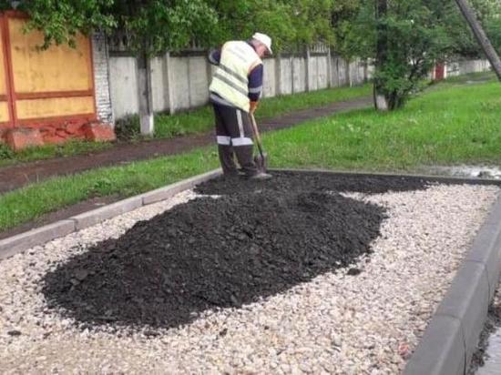 Обустройство остановочных пунктов продолжается в Серпухове
