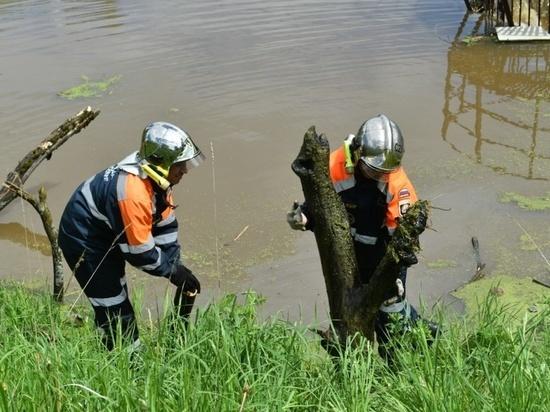 Водные объекты Серпухова готовят к противостоянию паводку