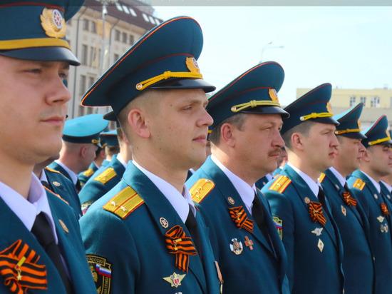 Сотрудники МЧС в Туле начали готовиться к Параду Победы