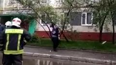 Хозяин взорванной квартиры оказался артистом цирка: видео с места