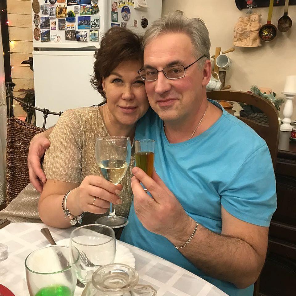 Юлия и Андрей Норкины: кадры семейного счастья