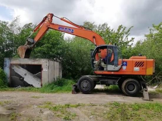 Незаконные объекты недвижимости сносят в Серпухове