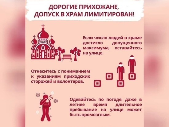 Серпуховичам рассказали, как сейчас можно посещать храмы