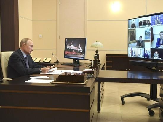 Путин: выход из ограничений должен быть осознанным и спокойным