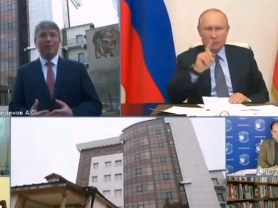 """""""Где еще 400 миллионов?"""": Путин поправил главу Бурятии"""