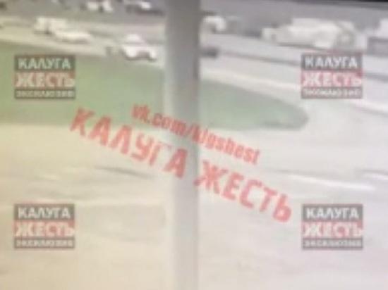 В Калужской области патруль ДПС сбил мотоциклиста