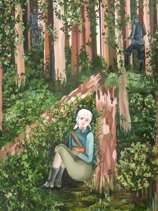 Рисунок серпуховички оценили на Всероссийском конкурсе