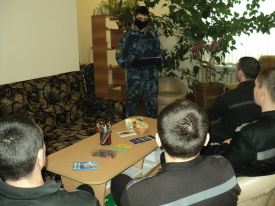 В Тверской области осужденным рассказали о релаксации в период пандемии