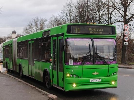 Как в Пскове будут ходить автобусы в предстоящие праздники