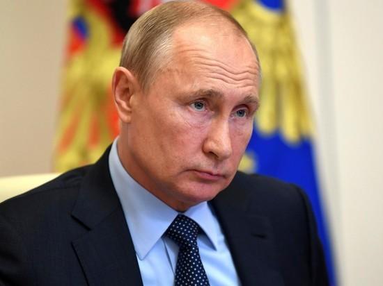 Путин объяснил закономерность поправок к Конституции на примере пандемии коронавируса