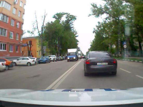 Погоня и ДТП: опубликовано видео задержания пьяного водителя в Туле