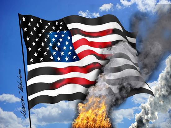 У погромов в США выявился четкий сценарий