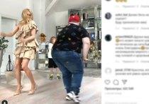 Рудковская устроила горячие танцы с пухляшом из клипа Little Big