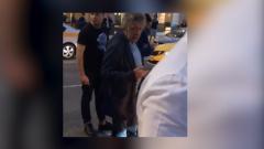 Михаил Ефремов после ДТП уселся под дерево: видео очевидца