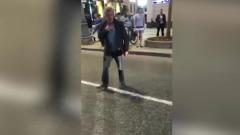 Пьяного вдребезги Михаила Ефремова сняли сразу после ДТП