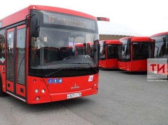 Три десятка новых «краснобусов» выйдут на дороги Казани
