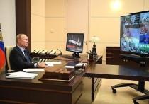 Владимир Путин положительно оценил взаимодействие Сергея Ситникова с некоммерческими организациями