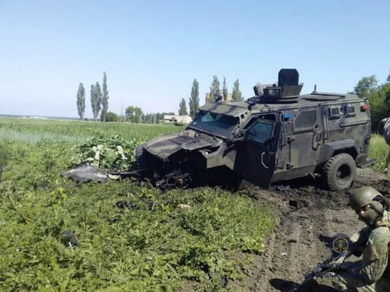 На Донбассе подорвался автомобиль ВСУ, ранены 10 человек